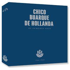 Pré-venda LP Box Chico Buarque de Hollanda - Os Primeiros Anos