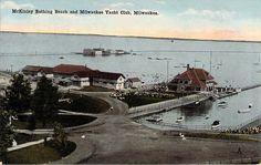 McKinley Bathing Beach and Milwaukee Yacht Club Milwaukee, WI