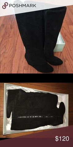 Jessica Simpson Rallie Boots Size 7.5 Brand new with the box! Never been worn!! Jessica Simpson Shoes Heeled Boots