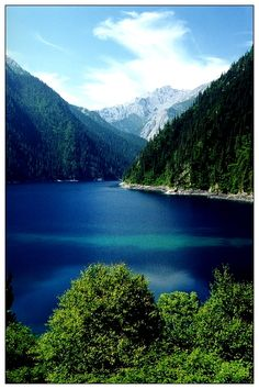 Chang Hai (Long Lake), Jiuzhaigou, China Copyright: Draco Long