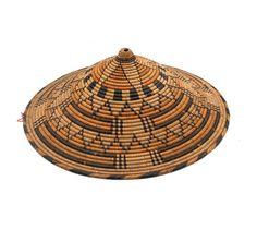 Raffia hat from Sénégal   20th century