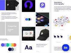 PropserOps - Behance Case Study by Filip Justić for Balkan Brothers on Dribbble Case Study Design, Brand Presentation, Portfolio Management, Visual Identity, Brand Identity, Brand Guidelines, Show And Tell, Machine Learning, Behance