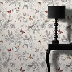 Arthouse Adorn Red And Teal Wallpaper At Diy
