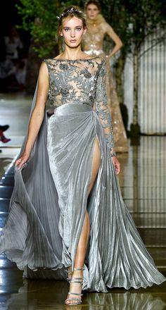 Zuhair Murad Parigi - Haute Couture Fall Winter - Shows - Vogue. Gala Dresses, Couture Dresses, Fashion Dresses, Formal Dresses, Couture Fashion, Runway Fashion, Fashion Show, Zuhair Murad, Beautiful Gowns