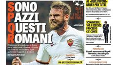 Rassegna stampa sportiva Italia: Roma folle, stasera c'è la Juventus - http://www.maidirecalcio.com/2015/10/21/rassegna-stampa-sportiva-italia.html