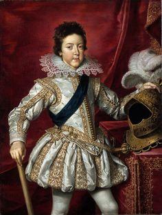 Frans Pourbus d.J., Ludwig XIII, 1616