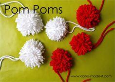 Pom Pom Tutorials
