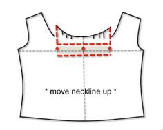 Great post. How to check for bodice adjustments needed like too low of a neckline.