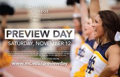 More than 500 high school students from 16 states will travel to Mississippi College for Fall Preview Day on November 12. They're coming from across the Southeast and as far away as Wisconsin, Illinois and Indiana. Preview Day offers an opportunity…