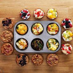 One Muffin Tin, Three Healthy Breakfasts #TastyFreshFriday