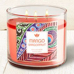 Mango Dragonfruit 3-Wick Candle - Home Fragrance 1037181 - Bath & Body Works