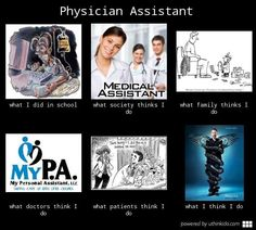 Physician Assistant meme just waiting to get here!!