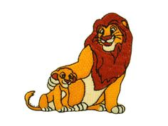 Disney/'s Pixar/'s The Lion King Iron-on Fabric Appliques ~ Iron ons New