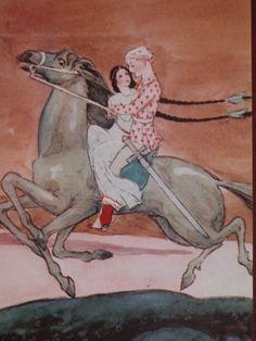 Illustration by Rudolf Koivu Finland Russian Mythology, Art Magique, Vintage Book Art, Fairytale Art, Children's Book Illustration, Book Illustrations, Grimm, Illustrators, Cool Art