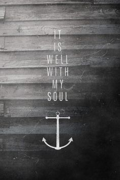 we have this hope, as an anchor for the soul, firm and secure-hebrews 6:19