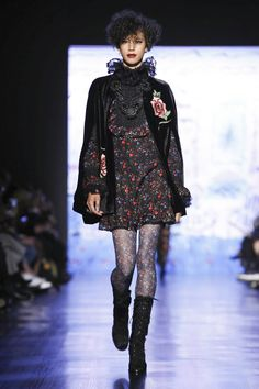 Anna Sui Ready To Wear Fall Winter 2017 New York
