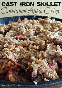 Top 10 Thanksgiving Dessert Recipes: 7. Cinnamon Apple Crisp