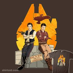 Partners in Crime StarWars/Firefly ~ Han Solo/Malcolm Reynolds ][ I think Han is smiling a little too much , just my opinion ;)