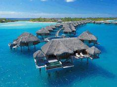 Seasons Hotel in Bora Bora Island