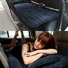 Inflatable air mattress for back of SUV or Car. Sleeping in your car was never so comfortable as one of these backseat air beds for your car.