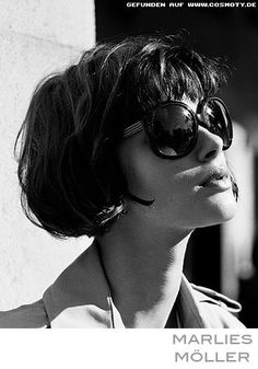 French-Bob-do I dare go this short *and* get bangs. Such a cool cut... hair #hair