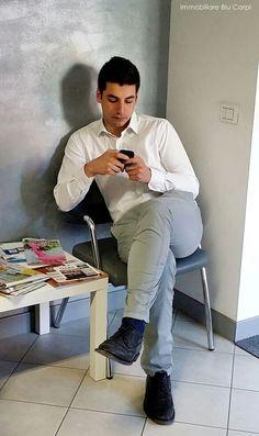 Matteo ... confermando gli appuntamenti del pomeriggio! #immobiliareblu #operativi #casa #carpi