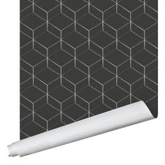 Hex Wallpaper - Traditional / Black / 2' x 8'