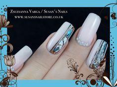 New nails Salon Nails, Nail Technician, Nail Artist, How To Do Nails, Art Work, Mosaic, Ideas, Ongles, Artwork