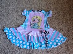 Check out this listing on Kidizen: New Elsa Custom Upcycle Dress