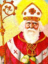 saint nicholas patron saint - Feast Day December 6