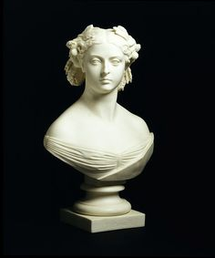 Minton & Co., after Carlo Marochetti (sculptor). Bust of Queen Victoria. 1862.    Parian porcelain.    Victoria and Albert Museum. London, UK.