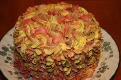 Thanksgiving/Autumn colors buttercream