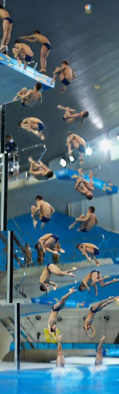 Olympics synchronized diving