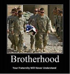 Brothers...unless you've been there, you wouldn't understand.