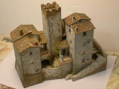 Medieval Houses, Medieval Town, Medieval Castle, Fantasy Castle, Fantasy House, Minecraft Medieval, Minecraft Architecture, Christmas Nativity Scene, Wargaming Terrain