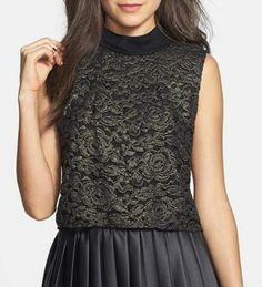 Beautiful, lace top.