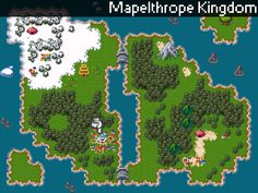 Pokemon Rescuers of Avalon - World Map (beta) by vxwarrior