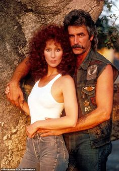 Cher & Sam Elliott publicity photo for Mask 'Mask' is one of my favourite movies. Cher is so great in it. Also, always had a strange crush on Sam Elliot. Big Lebowski, Movie Stars, Movie Tv, Katharine Ross, Image Film, Cher Bono, Cinema Tv, Idole, Clint Eastwood