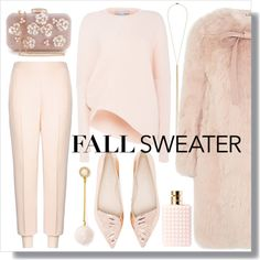 How To Wear Powder Pink Outfit Idea 2017 - Fashion Trends Ready To Wear For Plus Size, Curvy Women Over 20, 30, 40, 50