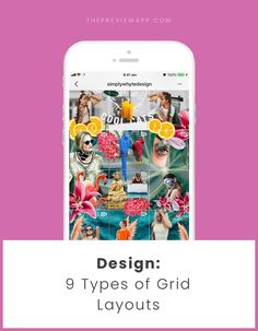 Here are 9 Instagram Grid Layouts you can use now to make your Instagram Theme. Also included: Instagram visual planner + tips.