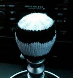 Stig Style Gear Knob Beanie Hat by NutkinsKnits on Etsy