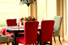 Dining Room: Dining Room Chair Slipcovers Sears Dining Chair Slipcovers With Sewing Pattern Dining Chair Covers Spotlight Chair Slipcover Styles Dining Chair With Skirted Covers Dining Chair With Striped Cover from Fascinating Idea With the Dining Room Chair Slipcovers