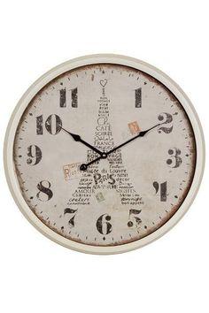Paris Decor, France, Louvre, Clock, Home Decor, Products, Pendulum Clock, Desk Clock, Pointers