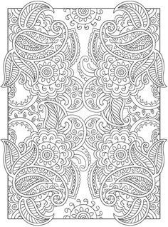 Welcome to Dover Publications  Creative Haven Mehndi Designs Collection Coloring Book