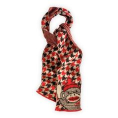 Green 3 Apparel Recycled Sock Monkey Houndstooth Scarf Green 3 Apparel. $27.90