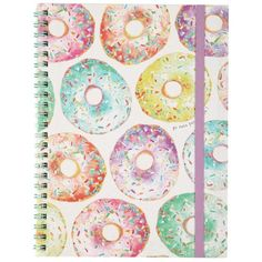 a5 spinout notebook ($4.95) ❤ liked on Polyvore featuring home, home decor, stationery, fillers, accessories, notebooks, books and items