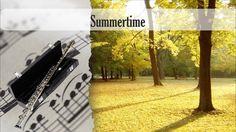 Partitura Summertime Flauta Traversa