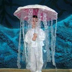 Jellyfish - Homemade Halloween Costume