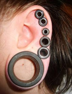Plug collection. #plugs #stretchedears #stretchedlobes #bodymodification #piercing similar styles at