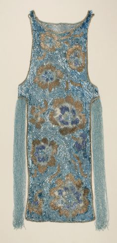 Evening dress, House of Worth (French, 1858–1956) , ca. 1924, French